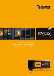 Televes COAXDATA ADA. 1000MBIT 1RJ45+SFP EKA1000SFP Data Sheet