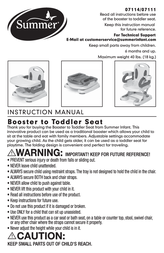 Summer Infant 7114 User Manual