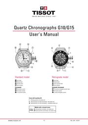 Tissot G10 User Manual