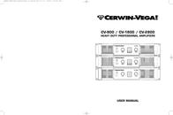 Cerwin-Vega CV-1800 User Manual