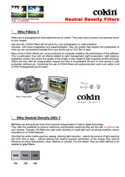 Cokin Z154 WWZ154 User Manual