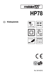 Meistercraft 5414510 11.2 mm 5414510 User Manual