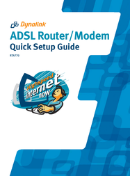 Dynalink ADSL Router/ RTA770 User Manual