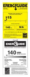 Asko W6424 Energy Guide