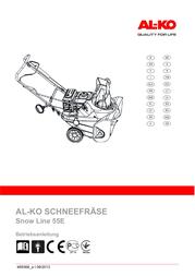 AL-KO SnowLine 55 E 113 096 User Manual