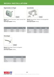 Wiska 50061939 Ecru 50061939 Data Sheet