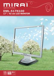 "Mirai 17"" LCD Monitor DML-517N100 Leaflet"
