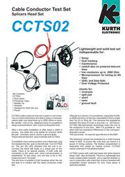 Kurth Electronic CCTS-02 0.49616 Leaflet