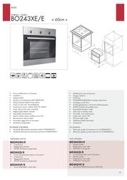 Bompani BO243XE/E Leaflet