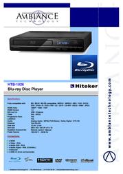 Hiteker HTB1026 HTB-1026 Leaflet