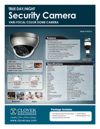 Clover Technologies Group HDC211 Leaflet