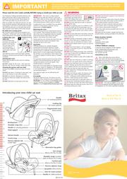 Britax BB0-633-00 User Manual