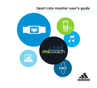 Adidas Heart Rate Monitor User Manual