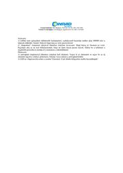 liteXpress Liberty 105 LX209101 Data Sheet