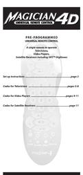 Philex Magician4D User Manual