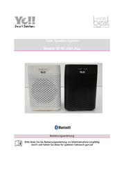 Silva Schneider MP3 Player Speaker, Black 286035 User Manual