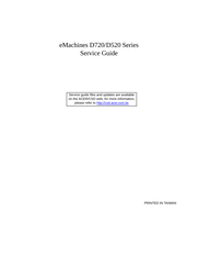 eMachines D720 User Manual