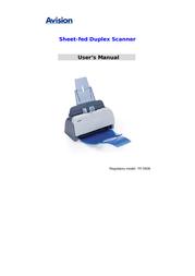 Avision AV122 Manuale Utente