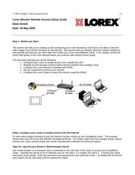 Lorex Technology DI-624 User Manual
