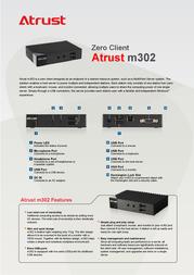 Atrust m302 M302 Leaflet