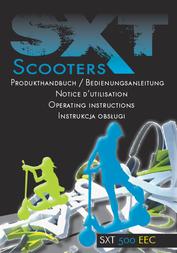 Sxt Scooters SXT500 EEC SCOOTER LITHIUM AKKU 36V 20AH 78019-ESC500EEC.2 Data Sheet