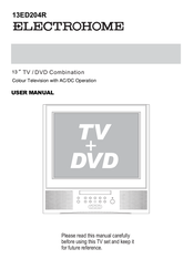 Electrohome 13ED204R User Manual