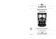 Lentz Coffee maker Black, Ebony black Cup volume=6 Plate warmer L6SS/1 Data Sheet