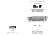 Tansun Quartz IR radiator 1500 W 9 m² Silver 100513 IP Data Sheet