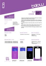 Billow SFP501B Leaflet