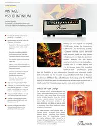Bugera V55HD Infinium V55HD INFINIUM User Manual