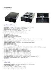 Fantec TCG-4860X47A-1 4U 688mm 400W ATX 3178 Leaflet