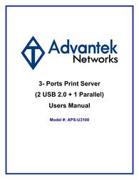 Advantek Networks APS-U3100 User Guide