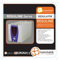 Tuncmatik Reguline 20KVA REGULINE-20KVA-SRV Leaflet