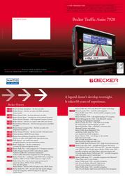 Becker Traffic Assist 7928 1879.537 Leaflet