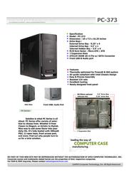Apex PC-373 Leaflet