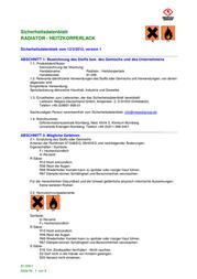 Nespoli Bravo Radiator paint 8180614 8180614 Data Sheet