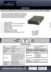 Vosstronics VTG-KC21ES Leaflet