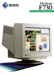 Eizo FlexScan F730 F730 Leaflet