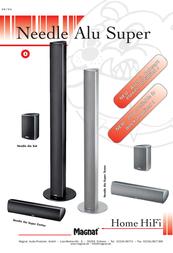 Magnat Needle Alu Sat 158945R User Manual